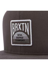 Brixton - Czapka z daszkiem BRIXTON - Pivot X Mp Snapback 10883 Black. Kolor: szary. Materiał: materiał, bawełna