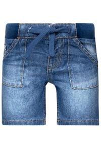Mayoral Szorty jeansowe 203 Granatowy Regular Fit. Kolor: niebieski. Materiał: jeans