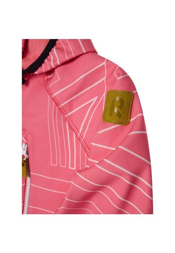 Różowa kurtka przeciwdeszczowa Reima