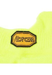 Vibram Fivefingers - Skarpety Niskie Unisex VIBRAM FIVEFINGERS - Athletic No Show S18N02 Yellow. Kolor: żółty. Materiał: lycra, nylon, materiał