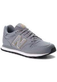 Szare buty sportowe New Balance