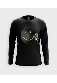 MegaKoszulki - Koszulka męska z dł. rękawem Paint The Moon. Materiał: bawełna