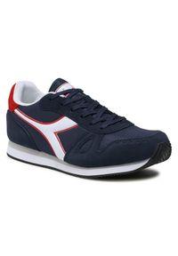 Diadora Sneakersy Simple Run 101.173745-C1512 Granatowy. Kolor: niebieski. Sport: bieganie