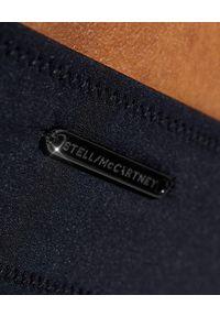 Stella McCartney - STELLA MCCARTNEY - Czarny top od bikini Iconic Chain. Kolor: czarny. Materiał: tkanina. Wzór: paski