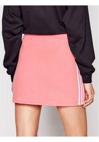 Różowa spódnica mini Adidas