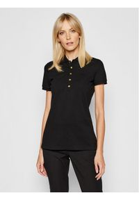 Czarna koszulka polo Lauren Ralph Lauren polo