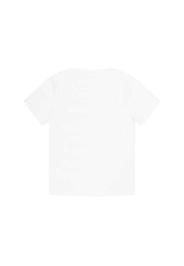 Biały t-shirt Timberland