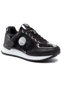 Colmar - Sneakersy COLMAR - Travis Punk 112 Black. Okazja: na co dzień. Kolor: czarny. Materiał: zamsz, materiał, skóra. Szerokość cholewki: normalna. Styl: casual