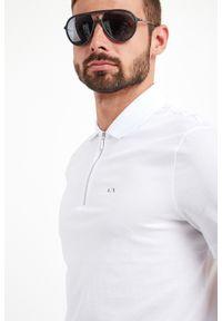 Koszulka polo Armani Exchange z nadrukiem, polo