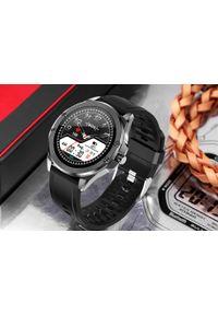 Czarny zegarek cyfrowy, sportowy