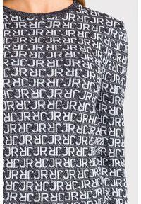Sweter John Richmond z długim rękawem, na spacer, krótki