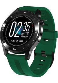 Zielony zegarek GepardWatches smartwatch