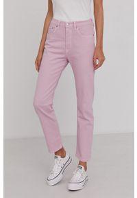 Levi's® - Levi's - Jeansy 501. Okazja: na spotkanie biznesowe. Kolor: różowy. Styl: biznesowy