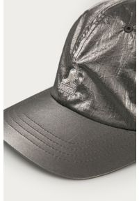 Srebrna czapka z daszkiem Kangol gładkie
