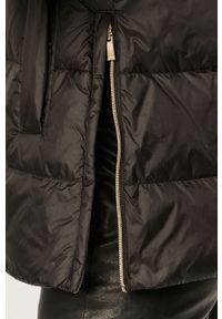Czarna kurtka Geox na co dzień, z kapturem