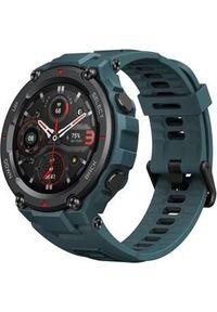 AMAZFIT - Smartwatch Amazfit T-Rex Pro Steel Blue Niebieski (W2013OV2N). Rodzaj zegarka: smartwatch. Kolor: niebieski