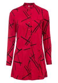 Czerwona bluzka bonprix