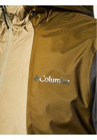 Zielona kurtka turystyczna columbia #7