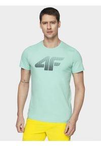 4f - T-shirt męski. Materiał: dzianina, bawełna