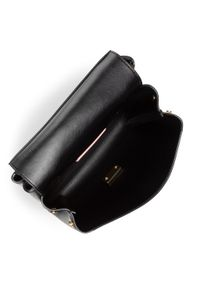 Czarna torebka klasyczna Coccinelle skórzana, klasyczna