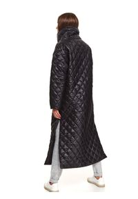 Czarna kurtka TOP SECRET długa