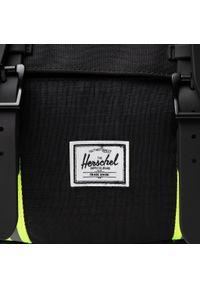 Herschel - Plecak HERSCHEL - Little America Mid-Volume 10020-04886 Black Enzyme Ripstop/Black/Safety Yellow. Kolor: czarny. Materiał: materiał