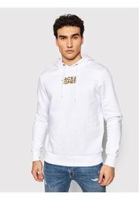 Jack & Jones - Jack&Jones Bluza Cocloudmix 12191356 Biały Regular Fit. Kolor: biały