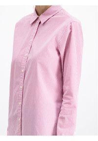 Różowa koszula TOMMY HILFIGER