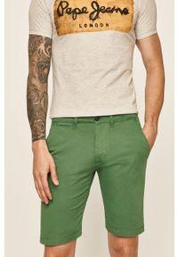 Szorty Pepe Jeans gładkie, na co dzień, casualowe