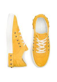 Eva Minge Sneakersy EM-10-05-000092 Żółty. Kolor: żółty