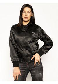 Czarna kurtka przejściowa MSGM