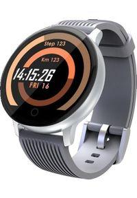 Szary zegarek LENOVO smartwatch, sportowy