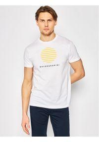 Biały t-shirt Baldessarini