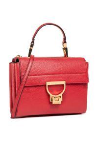 Czerwona torebka klasyczna Coccinelle
