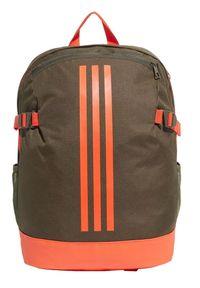 Adidas BP Power IV M pomarańczowy. Kolor: pomarańczowy. Wzór: paski. Styl: klasyczny