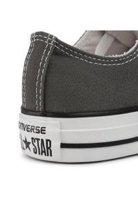 Szare buty sportowe Converse trekkingowe, z cholewką, na sznurówki