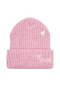 Różowa czapka zimowa Femi Stories