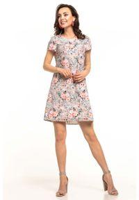 Sukienka wizytowa Tessita w kwiaty, na lato