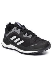 Czarne buty do biegania Adidas Adidas Terrex, z cholewką, na co dzień