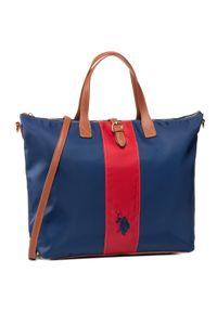 Niebieska torebka klasyczna U.S. Polo Assn klasyczna