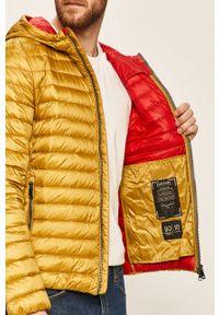 Żółta kurtka Geox z kapturem