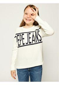 Pepe Jeans Sweter Vivian PG700895 Beżowy Regular Fit. Kolor: beżowy