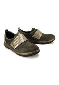 Befado Dr Orto - BEFADO DR ORTO CASUAL 156D 003 szary, obuwie profilaktyczne damskie. Okazja: na co dzień. Zapięcie: rzepy. Kolor: szary. Szerokość cholewki: normalna. Styl: casual