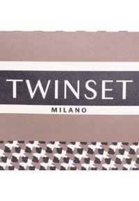 Brązowa torebka klasyczna TwinSet