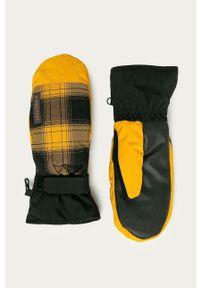 Protest - Rękawiczki. Kolor: żółty