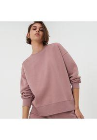 Sinsay - Bluza basic - Różowy. Kolor: różowy