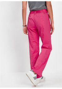 Różowe spodnie bonprix