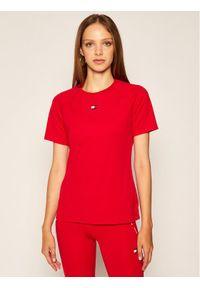 Czerwona koszulka sportowa Tommy Sport