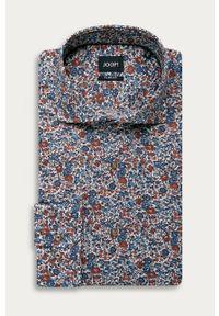 Wielokolorowa koszula JOOP! casualowa, długa, w kwiaty, na co dzień
