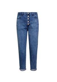 Niebieskie spodnie J BRAND w kolorowe wzory, na lato